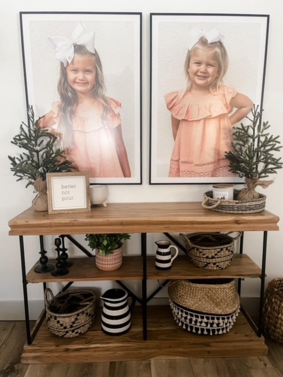 Large framed prints