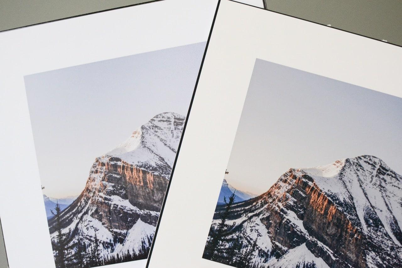 Art Paper vs Photo Paper