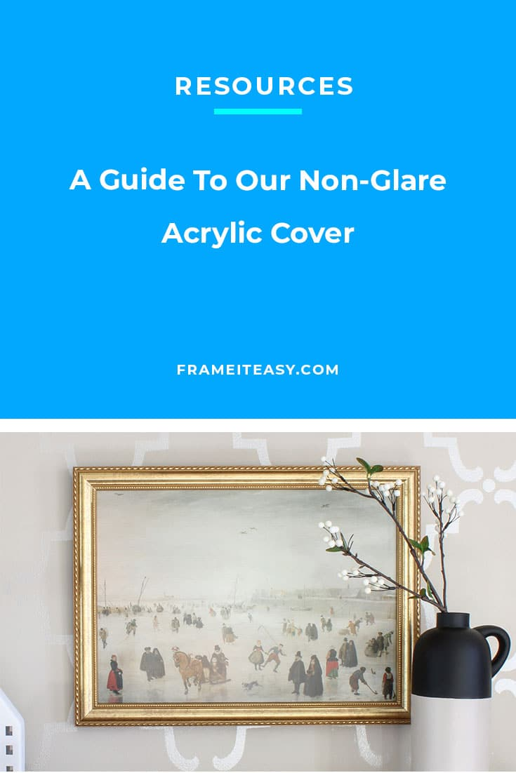 Non-Glare Acrylic Cover