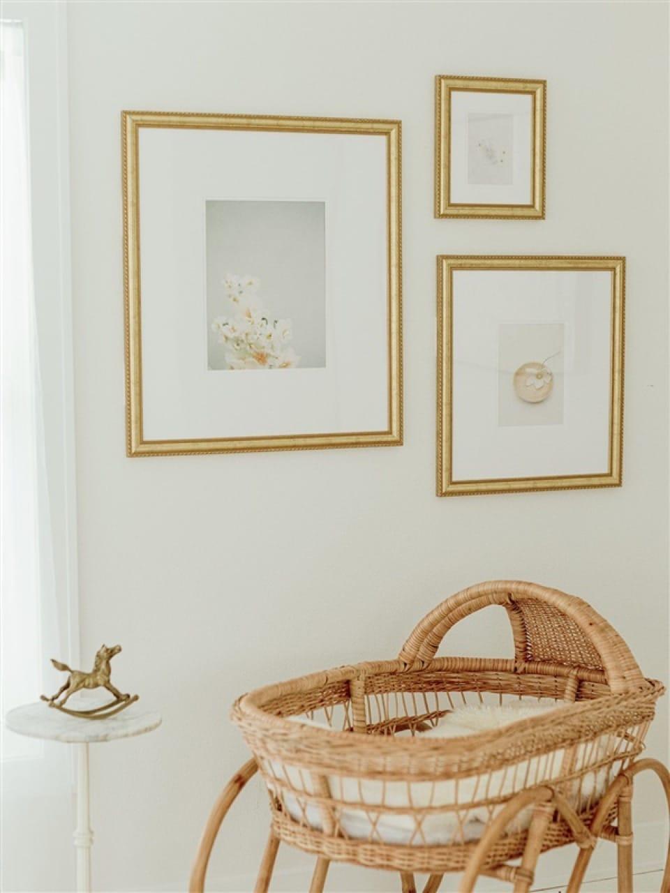 Granby gold frames