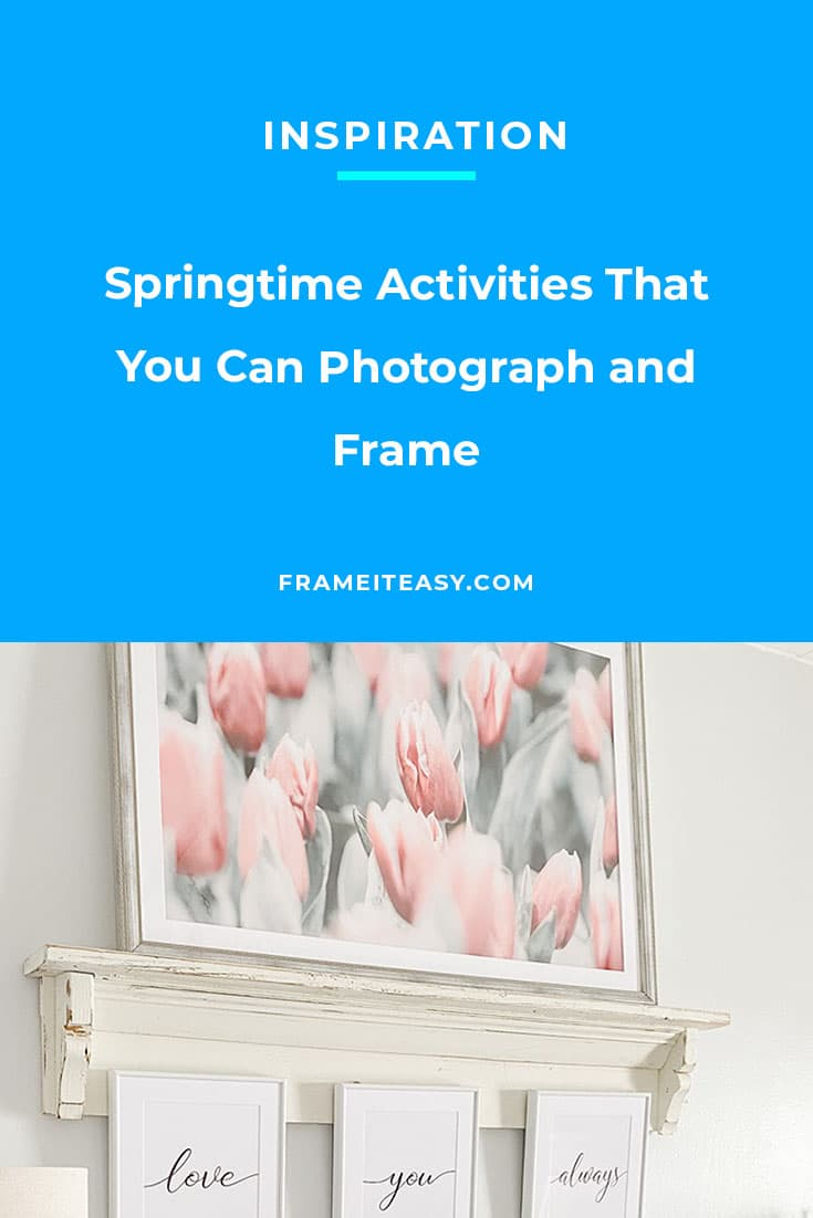 Springtime Activities That You Can Photograph and Frame