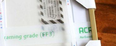 packaged frame