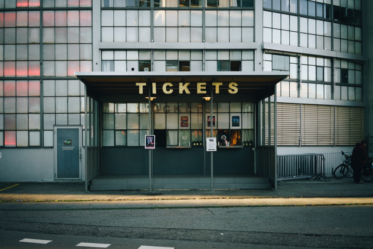 ticket stand