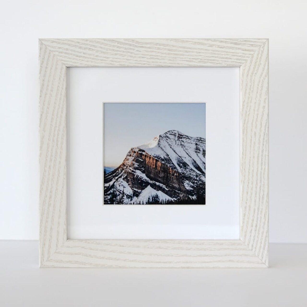 Dayton frame in Whitewash