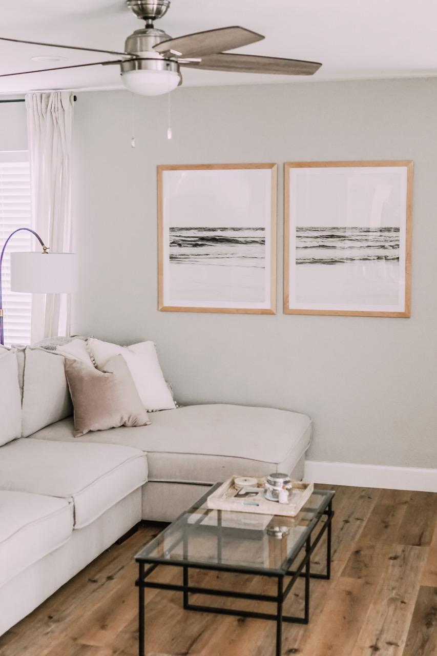 frame near a window