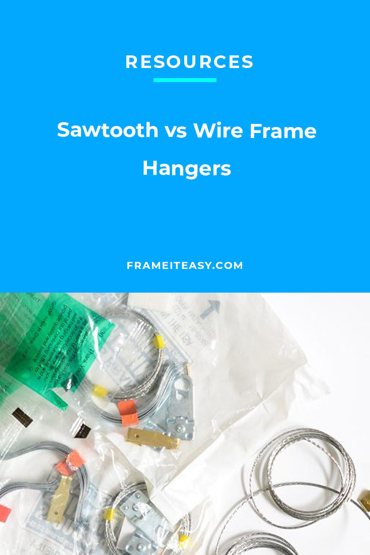 sawtooth vs wire hangers