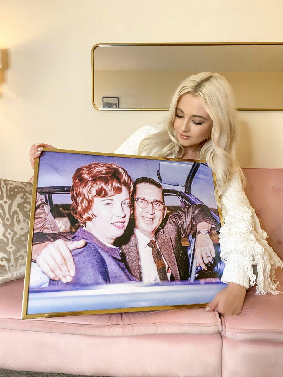 large print framed