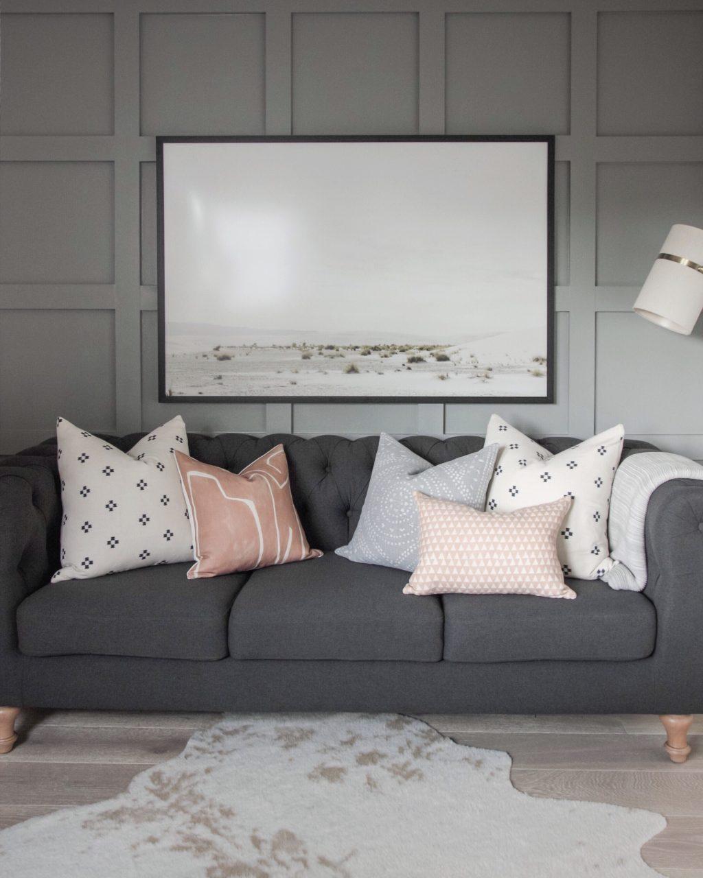 timeless decor in living room