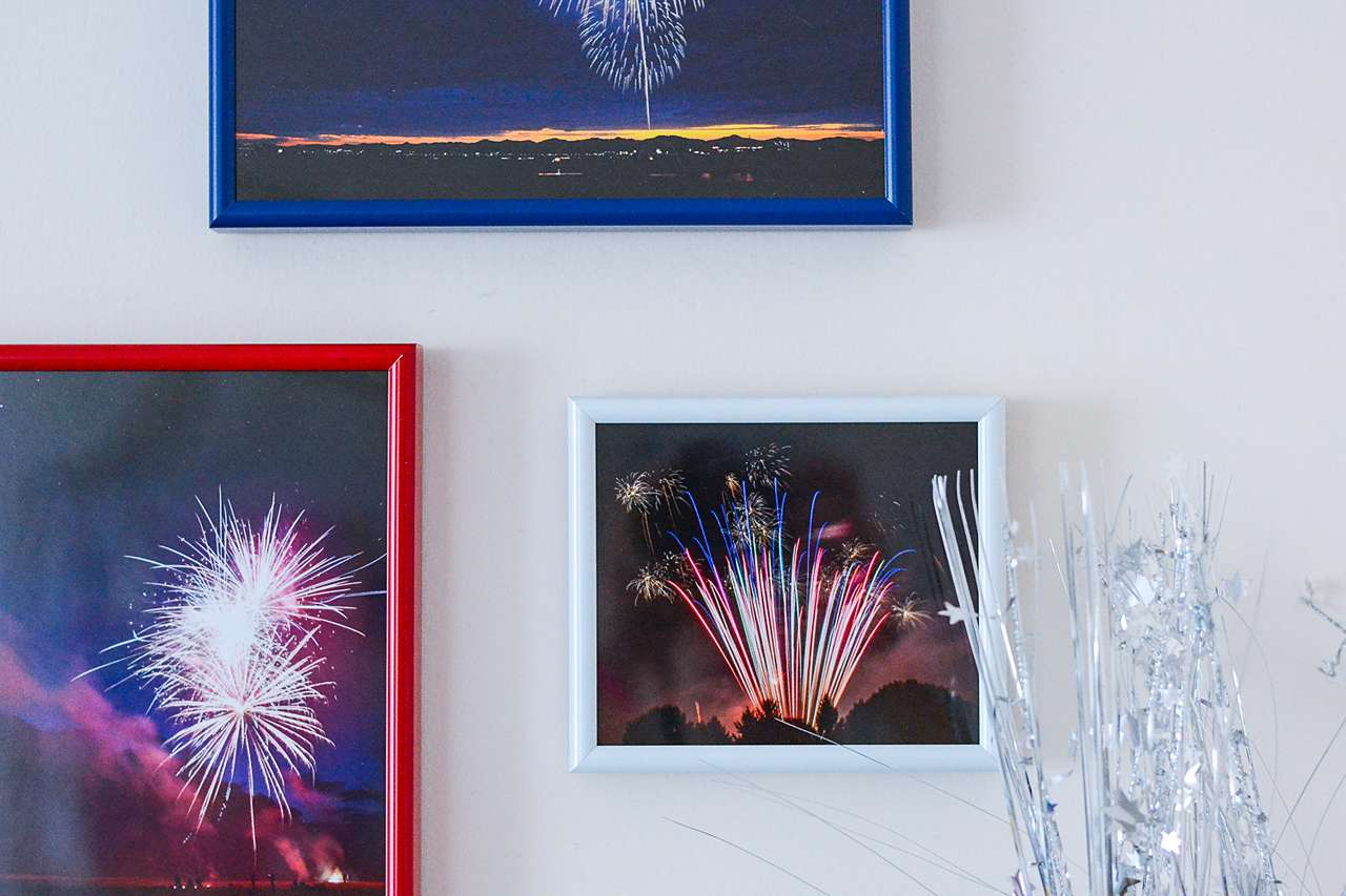 red white and blue photos