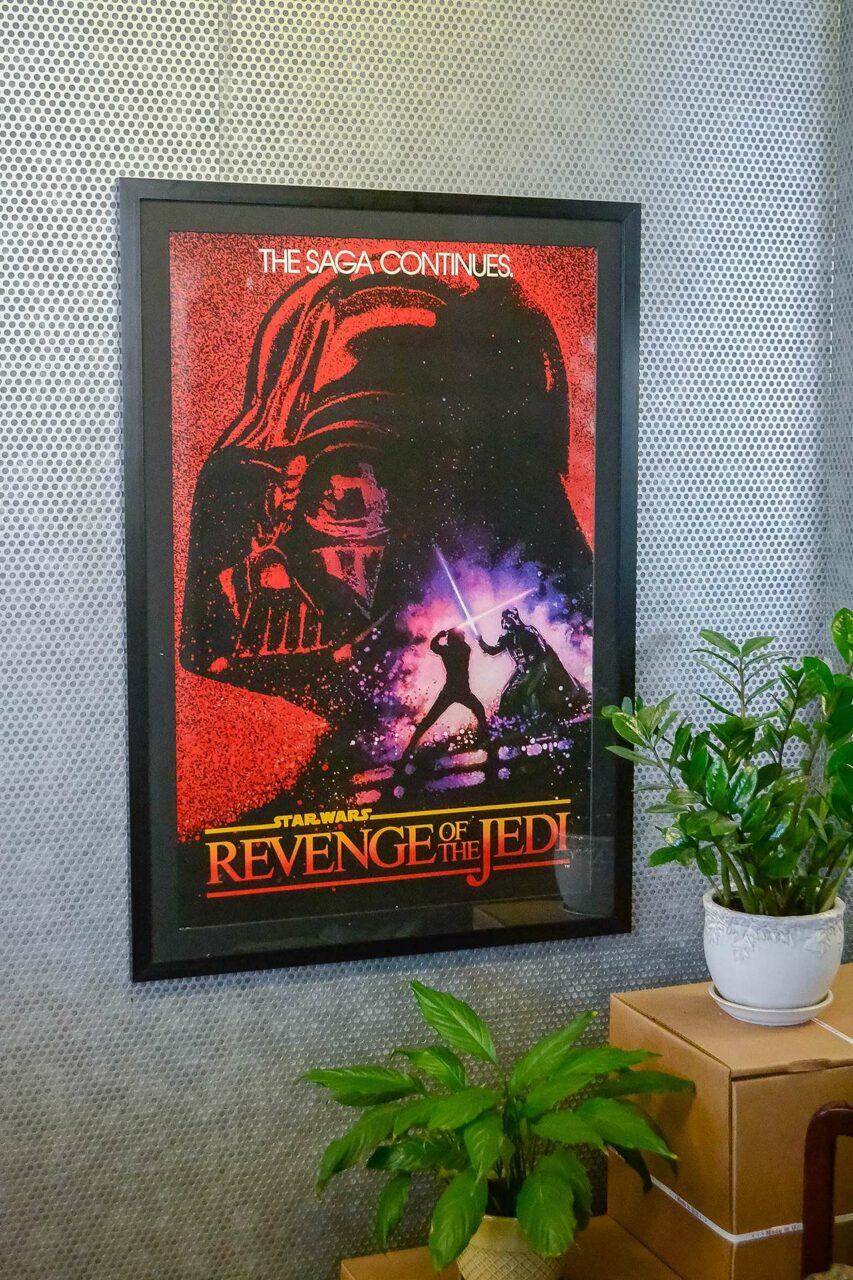 Star wars poster frames