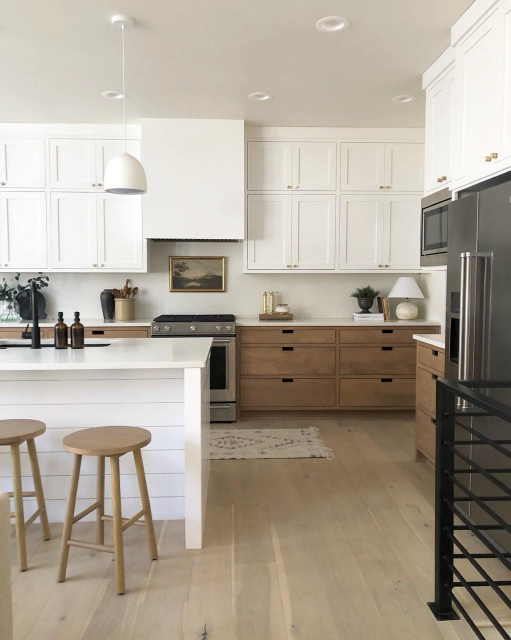 minimalistic decor kitchen